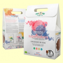 Superbakery Bizcocho Eco - 3 bolsitas - Energy Feelings