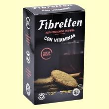 Fibretten Vitaminadas - Galletas Fibra - 240 gramos - Venpharma