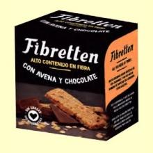 Fibretten Chocolate y Avena - Galletas Fibra - 200 gramos - Venpharma