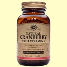 Arándano Rojo con vitamina C - 60 cápsulas - Solgar