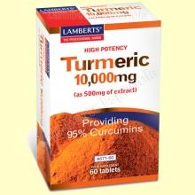 Cúrcuma 10.000 mg - 60 tabletas - Lamberts