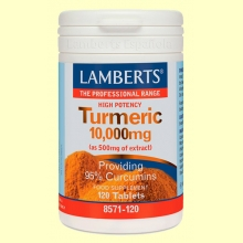 Cúrcuma 10.000 mg - 120 tabletas - Lamberts