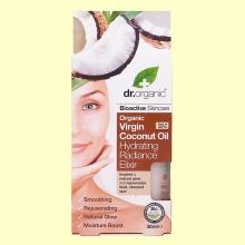 Elixir Hidratación de Aceite de Coco Bio - 30 ml - Dr.Organic