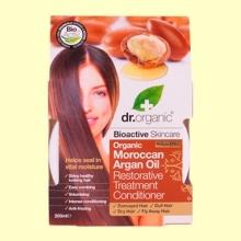 Tratamiento Acondicionador Restaurador de Aceite de Argán Marroquí - 200 ml - Dr.Organic