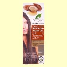 Suero Capilar de Aceite de Argán Marroquí Bio - 100 ml - Dr.Organic