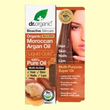 Aceite Puro de Argán Marroquí Bio - 50 ml - Dr.Organic