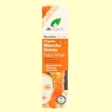 Mascarilla Facial de Miel de Manuka Bio - 125 ml - Dr.Organic