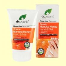 Crema para Manos y Uñas de Miel de Manuka Bio - 125 ml - Dr.Organic
