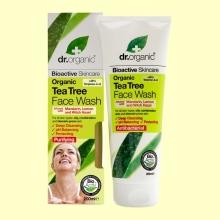 Gel Limpiador Facial de Árbol del Té Bio - 200 ml - Dr.Organic