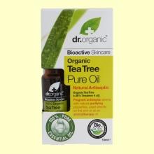 Aceite Puro de Árbol del Té Bio - 10 ml - Dr.Organic