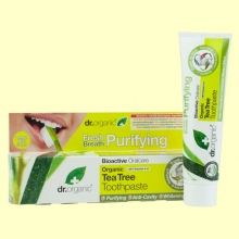 Pasta Dental de Árbol del Té Bio - 100 ml - Dr.Organic
