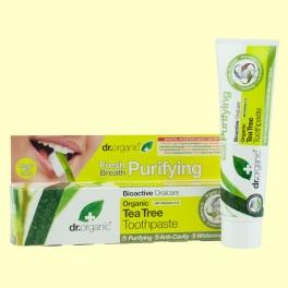 Pasta Dental de Árbol del Té Bio - 100 ml - Dr.Organic *