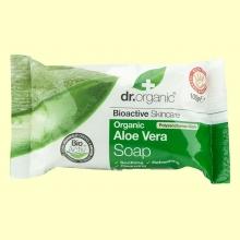 Pastilla de Jabón con Aloe Vera Bio - 100 gramos - Dr.Organic