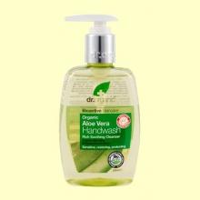 Jabón de Manos con Aloe Vera Bio - 250 ml - Dr.Organic