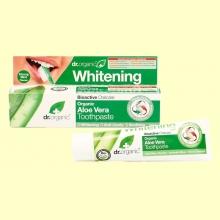 Pasta Dental de Aloe Vera Bio - 100 ml - Dr.Organic