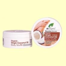 Crema Suflé Corporal de Aceite de Coco Bio - 200 ml - Dr.Organic