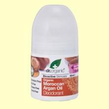 Desodorante de Aceite de Argán Marroquí Bio - 50 ml - Dr.Organic