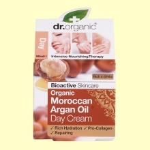Crema de Día Aceite de Argán Marroquí Bio - 50 ml - Dr.Organic