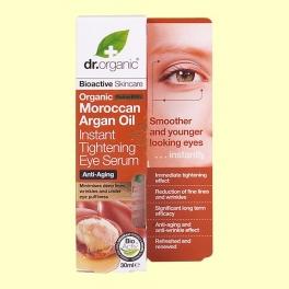 Suero Contorno de Ojos de Aceite de Argán Marroquí Bio - 30 ml - Dr.Organic