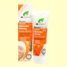 Exfoliante Facial de Miel de Manuka Bio - 125 ml - Dr.Organic *