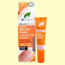 Solución para Uñas y Cutículas de Miel de Manuka Bio - 15 ml - Dr.Organic