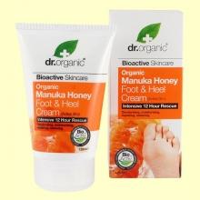 Crema para Pies y Talones de Miel de Manuka Bio - 125 ml - Dr.Organic