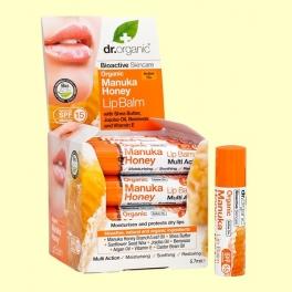 Bálsamo Labial de Miel de Manuka Bio - 5,7 ml - Dr.Organic