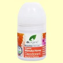 Desodorante de Miel de Manuka - 50 ml - Dr.Organic