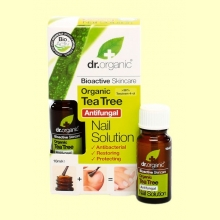 Solución Antibacteriana para Uñas de Árbol del Té Bio - 10 ml - Dr.Organic