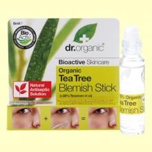 Barra Tratamiento Acné de Árbol del Té Bio - 8 ml - Dr.Organic