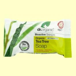 Jabón en Pastilla de Árbol del Té Bio - 100 gramos - Dr.Organic