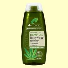 Gel de Ducha de Aceite de Cáñamo Bio - 250 ml - Dr.Organic