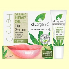 Suero Labial de Aceite de Cáñamo Bio - 10 ml - Dr.Organic