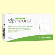 Plactive Neural - Dolor Espalda - 20 comprimidos - Pharmadiet