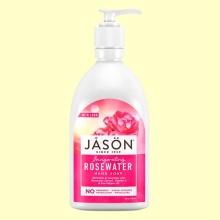 Jabón Facial y de Manos Glycerine & Rosewater - Jason - 473 ml