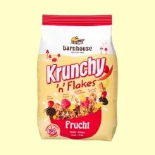 Krunchy con Copos y Fruta Bio - 375 gramos - Barnhouse
