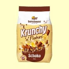Krunchy con Copos y Chocolate Bio - 375 gramos - Barnhouse