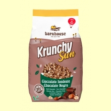 Krunchy Sun Chocolate Negro y Avellana Bio - 375 gramos - Barnhouse