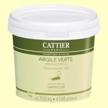 Arcilla Verde - Lista para usar - 1350 gramos - Cattier