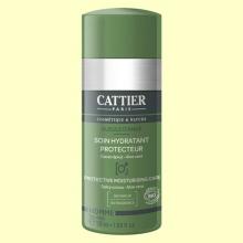 Cuidado Hidratante Protector Hombre Bio - 50 ml - Cattier