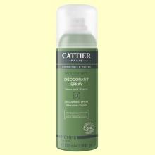 Desodorante Spray Hombre Bio - 100 ml - Cattier