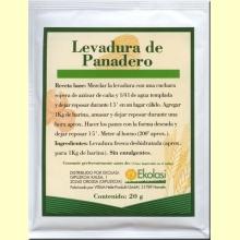 Levadura de Panadero 20 g. de Ekolasi