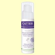 Sérum Matificante Requilibrante Bio - 30 ml - Cattier