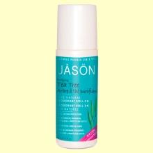 Desodorante Roll-On Árbol del Té - 89 ml - Jason