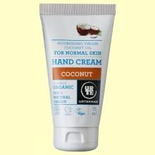 Crema de Manos Coco Bio - 75 ml - Urtekram