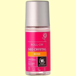Desodorante Roll On de Rosas Bio - 50 ml - Urtekram