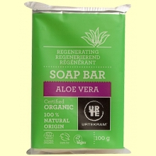 Jabón de Aloe Vera Bio - 100 gramos - Urtekram