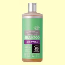 Champú de Aloe Vera Cabello Seco Bio - 500 ml - Urtekram *