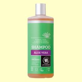 Champú de Aloe Vera Cabello Normal Bio - 500 ml - Urtekram