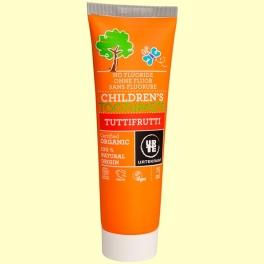 Pasta de Dientes para Niños Tutti Frutti Bio - 75 ml - Urtekram